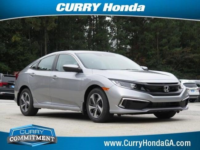 New 2020 Honda Civic LX Sedan For Sale in Atlanta