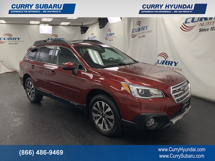 Certified Pre-Owned 2016 Subaru Outback 2.5i Limited SUV In Cortlandt Manor, NY
