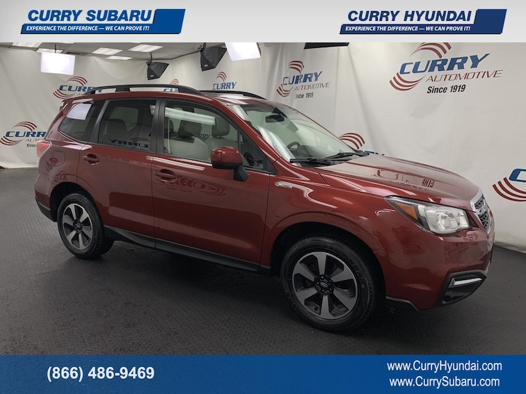 Certified Pre-Owned 2017 Subaru Forester Premium SUV In Cortlandt Manor, NY