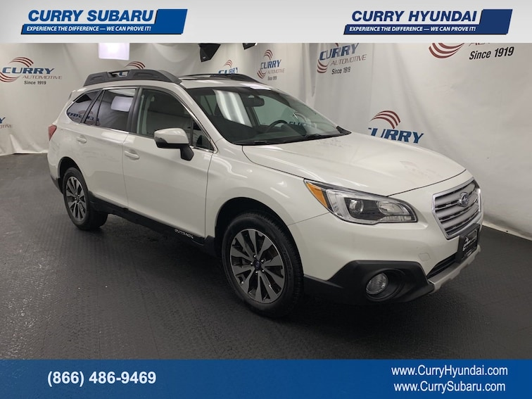 Certified Pre-Owned 2017 Subaru Outback Limited SUV In Cortlandt Manor, NY