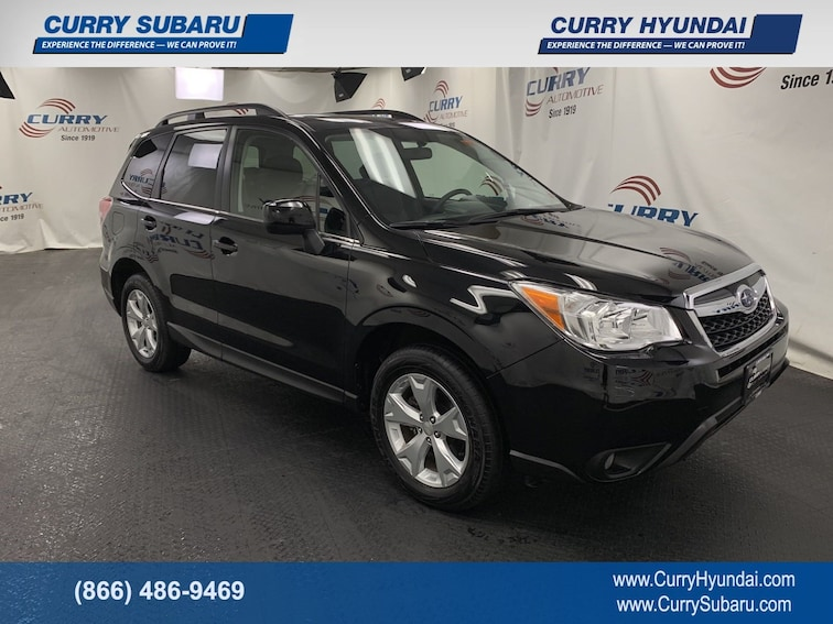 Certified Pre-Owned 2016 Subaru Forester 2.5i Limited SUV In Cortlandt Manor, NY