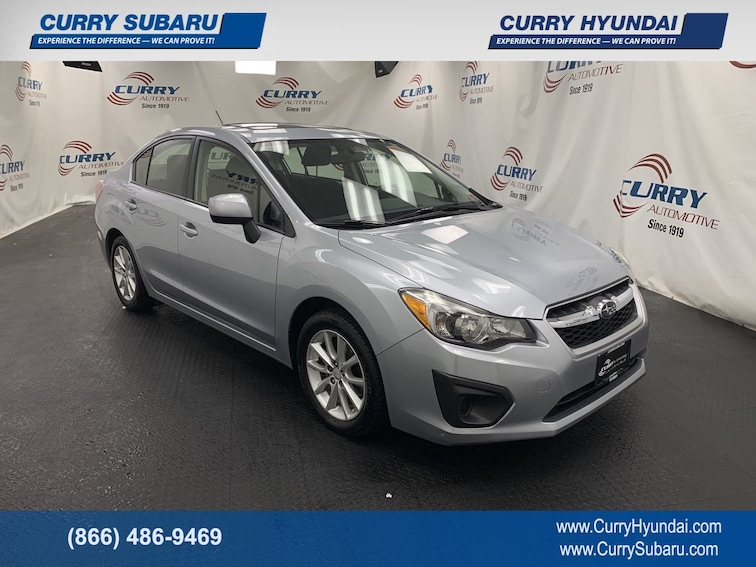 Used 2014 Subaru Impreza Premium Sedan For Sale in Cortlandt Manor, NY