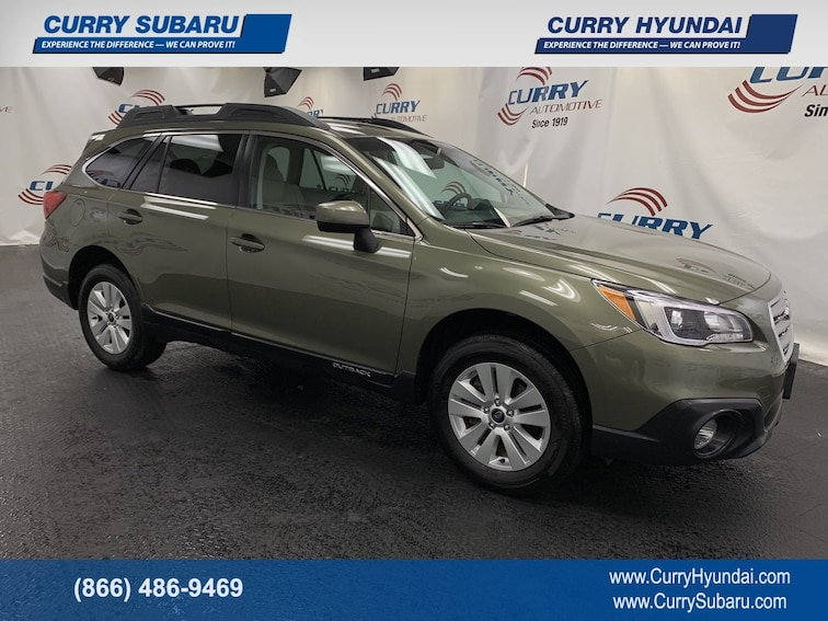 Certified Pre-Owned 2017 Subaru Outback Premium SUV In Cortlandt Manor, NY