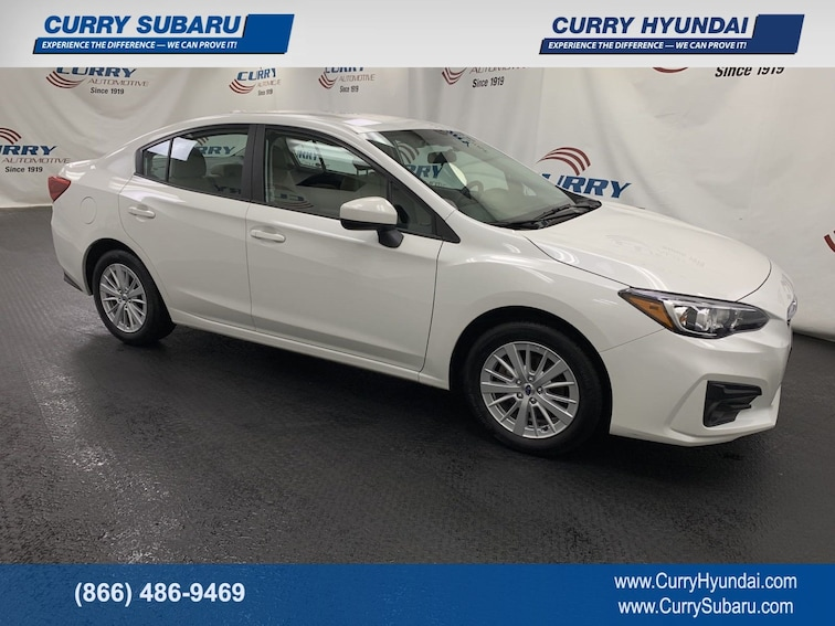 Certified Pre-Owned 2018 Subaru Impreza Premium Sedan In Cortlandt Manor, NY