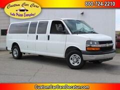 2010 Chevrolet Express 3500 LT 15 Passenger Extended Van