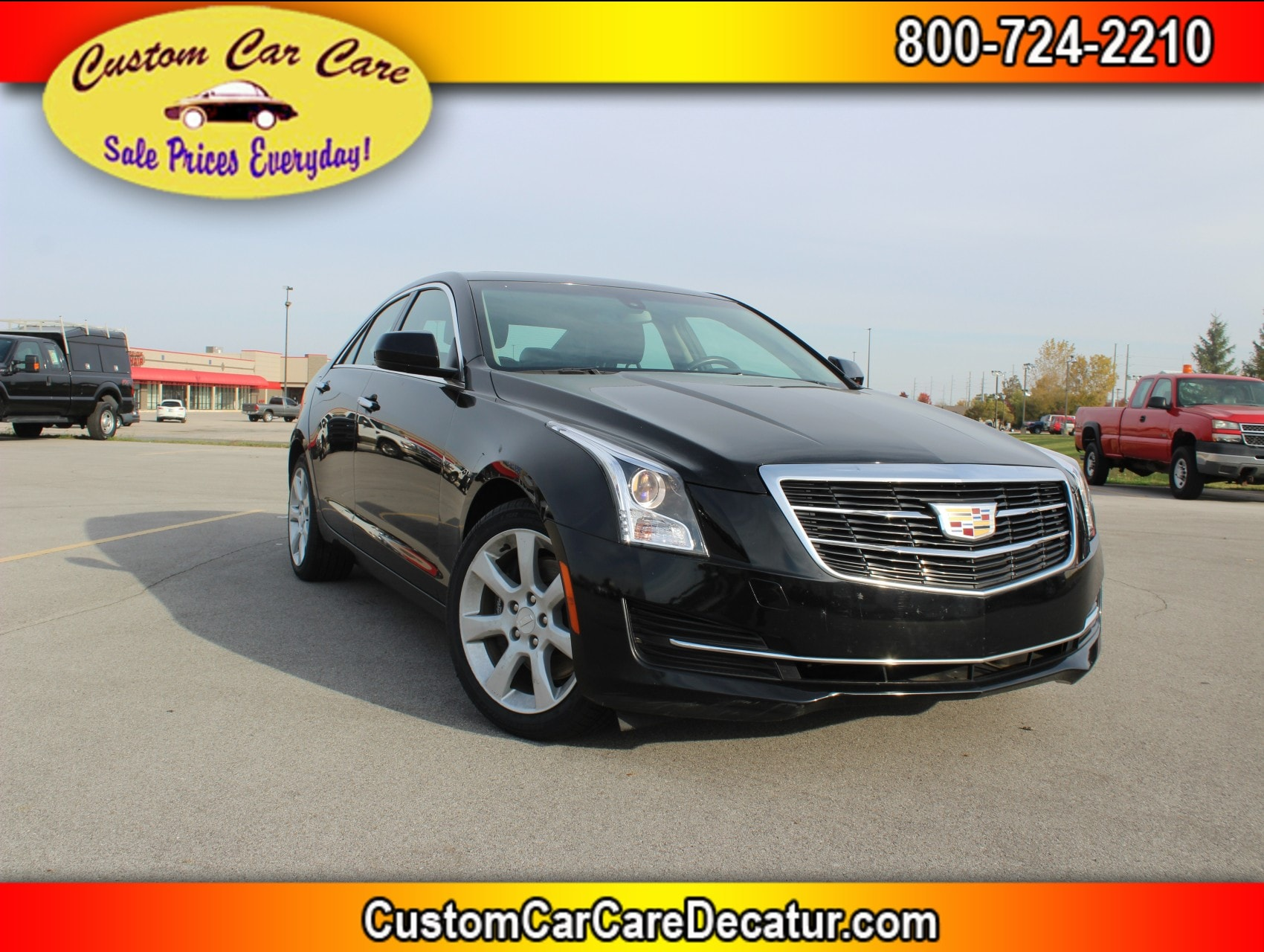 2016 CADILLAC ATS 2.0L Turbo Standard AWD Sedan