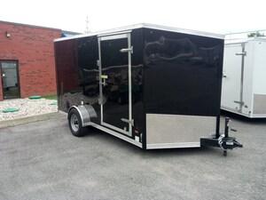 2018 Haulin HLAFTX712SAE Enclosed trailer Ramp Door
