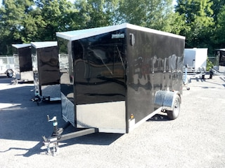 2018 Haulin HLAFTX612SA  6x12 SA Enclosed Trailer Ramp Door
