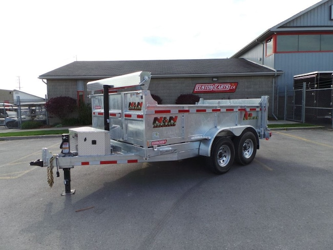 2018 N&N 82x12 7 ton Dump 82x12ft Galvanized Dump Trailer