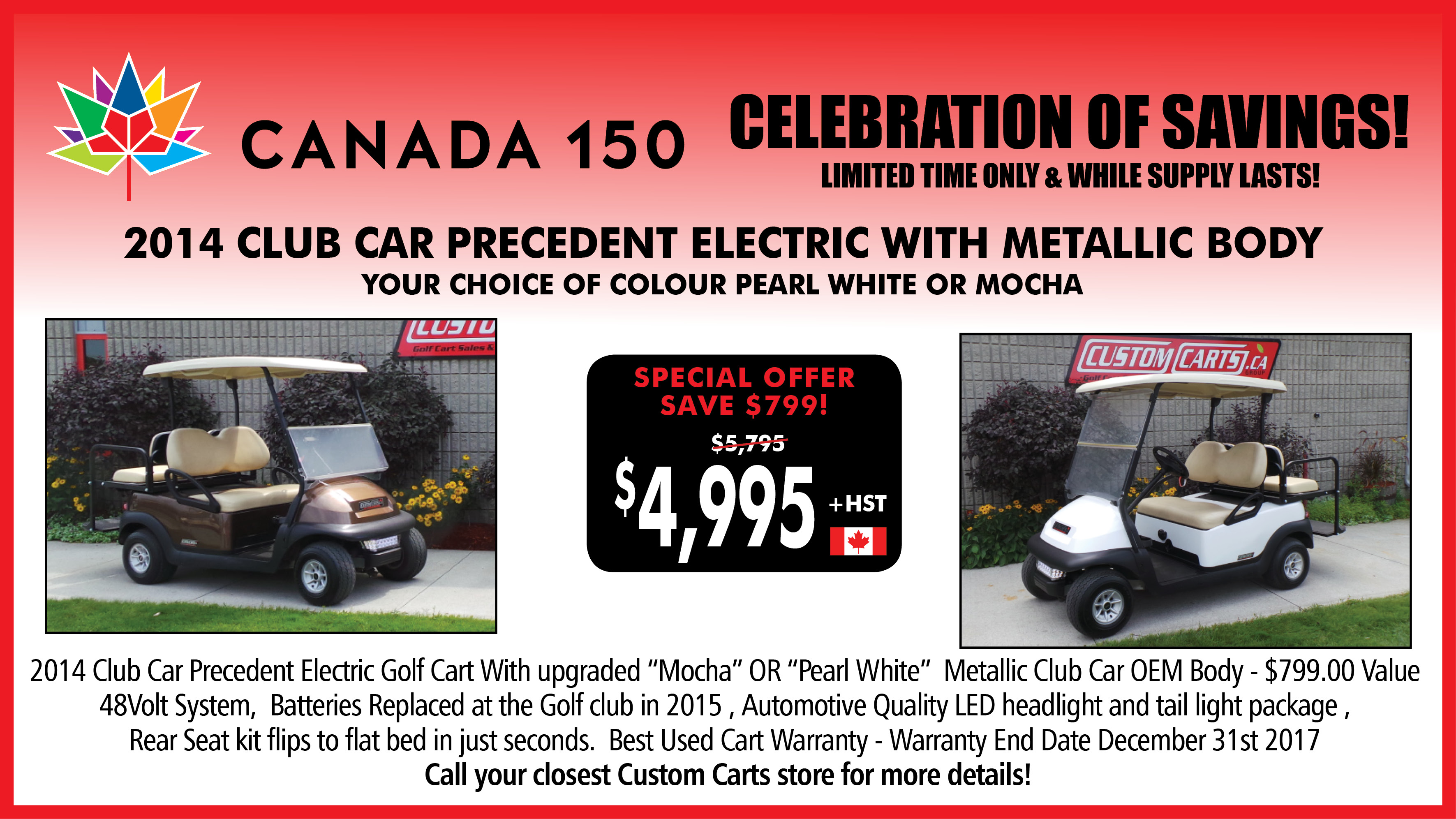 Customcarts golf carts and golf car parts superstore previous pause next amipublicfo Gallery