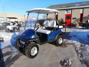2014 CLUB CAR Precedent Electric Golf Cart - 4 PasSr with Jakes lift Kit