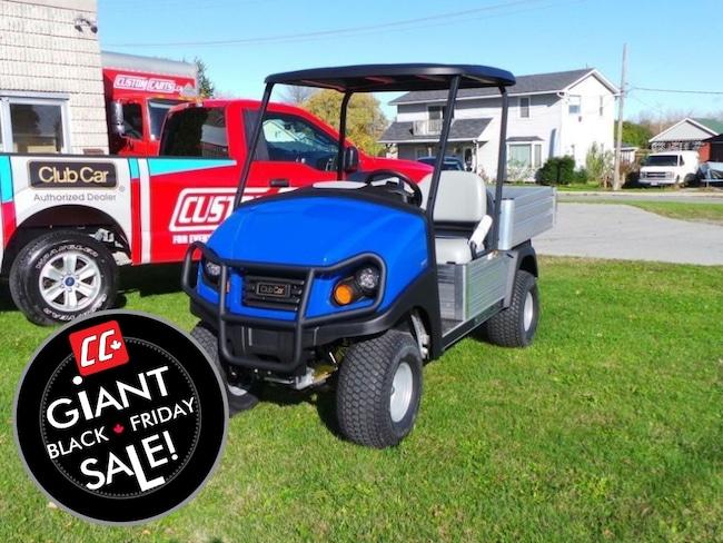 2018 CLUB CAR Carryall  550 GAS POWERED Utility Cart With EFI