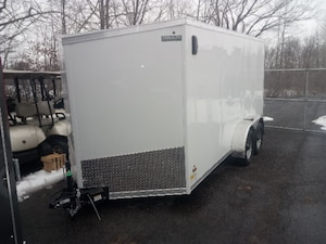 2018 Haulin HLAFTX714TA2 - Enclosed Work Trailer  Barn Door option