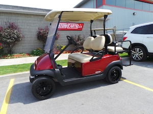 2014 CLUB CAR Precedent 4 Passenger Golf Cart Upgraded Body & Wheels