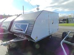 2018 Amera-Lite ABSXT8512SA - Blast - White Exterior Snowmobile / Atv Trailer