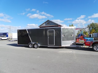 2019 Lightning  LTFES722TA2 Drive In Drive Out Snow Mobile Trailer
