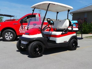 2014 CLUB CAR Precedent Custom Golf Cart with Brand New Batteries