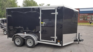 2018 Haulin HLAFTX712TA2 7X12 Tandem Enclosed Trailer with Ramp Door