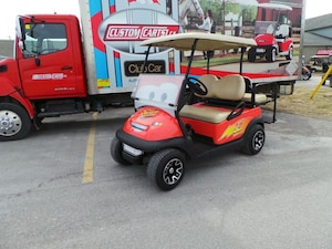 2014 CLUB CAR Precedent 4Passenger Cars themed Custom Golf Cart