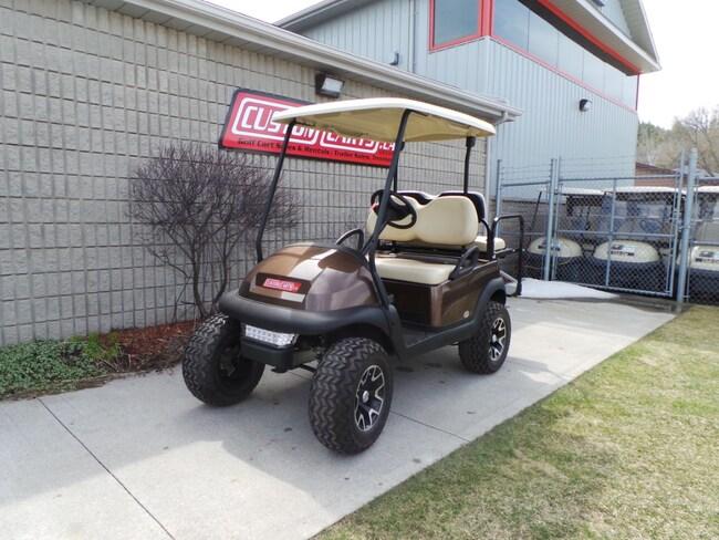 2014 CLUB CAR Precedent 2014 ClubCar Lifted Electric Golf Cart - MOCHA