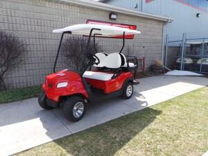 2017 CLUB CAR Onward President's Cup Electric Golf Cart