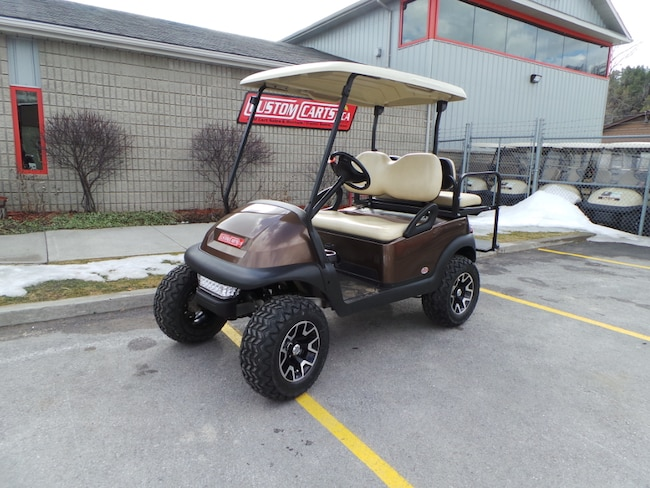 2014 CLUB CAR Precedent 2014 ClubCar Prec Electric Golf Cart - MOCHA
