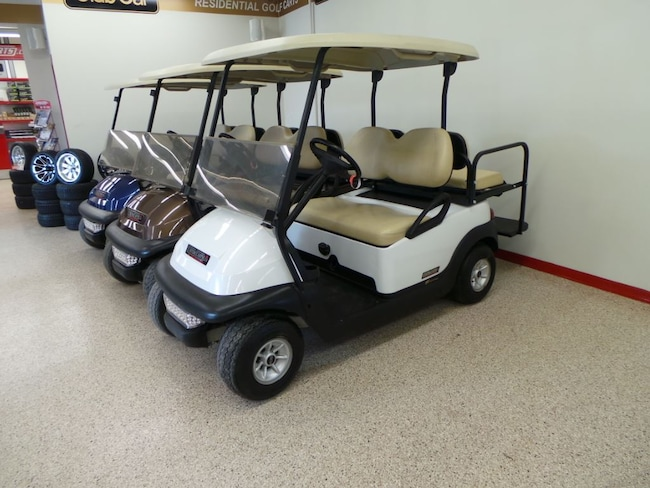 2009 CLUB CAR Precedent 48Volt Electric Golf Cart - 4Passenger