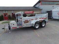 2019 N&N 5Ton Galvanized Dump Trailer - 6x10 HOT DIPPED GALVANIZED