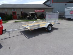 2018 N&N 5.5 X 10 ATV / SXS / GOLF CART / UTILITY TRAILER Hot Dipped Galvanized