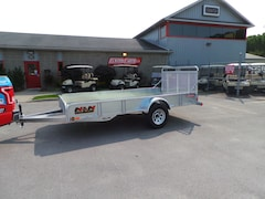 2018 N&N S72144G - 6 x 12 Utility Trailer - Upgraded Sides  Hot Dipped Galvanized