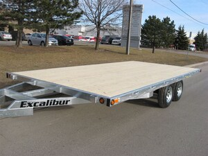 2018 Excalibur 3.5 Ton Deckover 8x16 Deck over Equipment float trailer