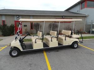 2017 CLUB CAR Villager Villager 8 Limo Golf Cart - Demo