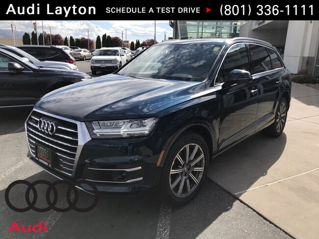 new 2018 Audi Q7 3.0T Premium Plus SUV near Salt Lake City UT