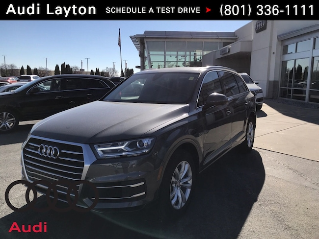 new 2019 Audi Q7 3.0T Premium SUV near Salt Lake City UT