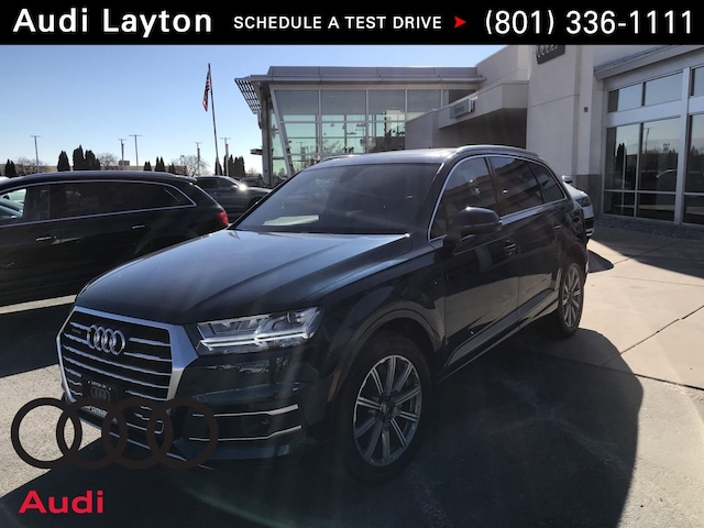 New 2018 Audi Q7 3.0T Premium Plus SUV in Layton, UT
