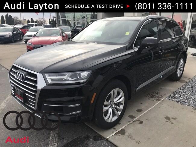 new 2019 Audi Q7 3.0T Premium SUV near Salt Lake City UT