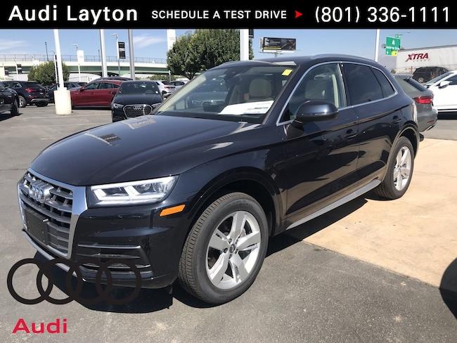new 2018 Audi Q5 2.0T Tech Premium SUV near Salt Lake City UT