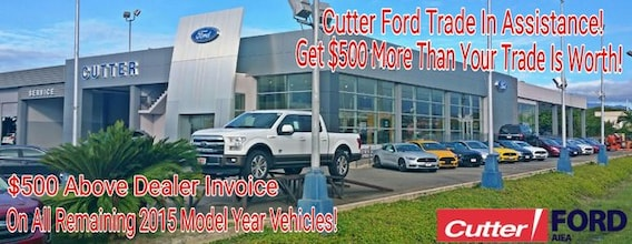 Cutter Ford Aiea >> Value You Car Trade In At Cutter Ford Hawaii New Used