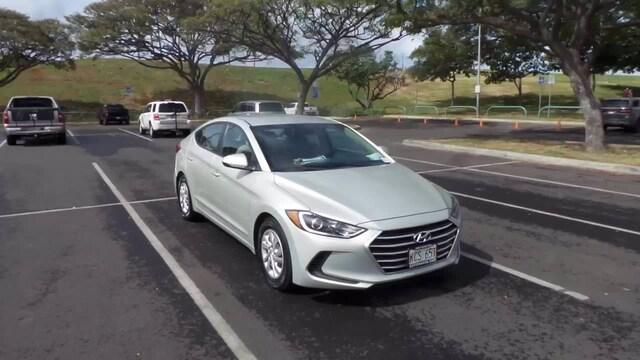 Featured Pre-owned 2017 Hyundai Elantra SE Sedan for sale in Waipahu, HI