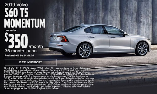 New Vehicle Specials Cutter Volvo Cars