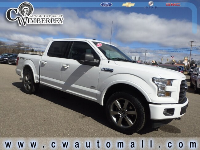 2017 Ford F-150 XLT CREW CAB SHORT BED TRUCK