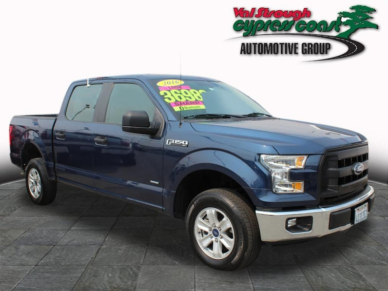 Used 2016 Ford F-150 XLT Truck SuperCrew Cab in Seaside