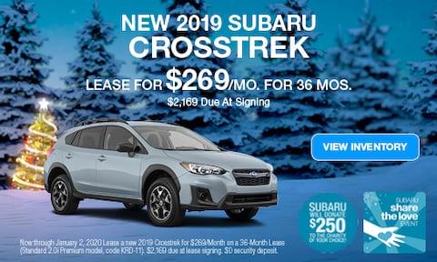 December | 2019 Crosstrek