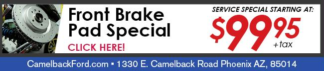 Brake Pad Coupon, Phoenix
