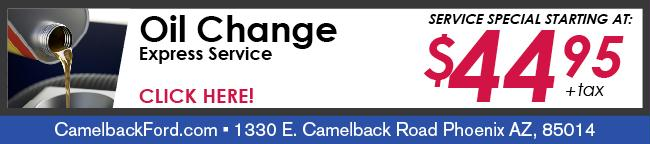 Camelback Ford Service Specials Amp Coupons Phoenix