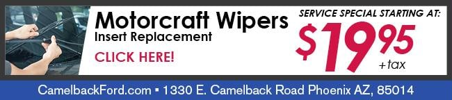 Windshield Wiper Blade Replacement Coupon, Phoenix