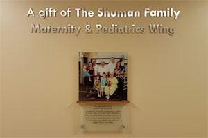 Shuman Family Plaque