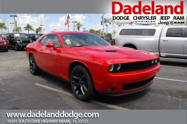 New 2019 Dodge Challenger SXT Coupe in Miami