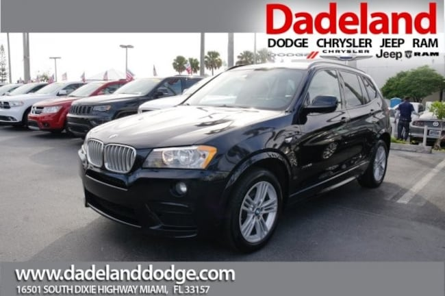 Used 2014 BMW X3 xDrive28i SUV in Miami
