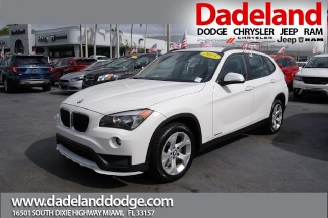 Used 2015 BMW X1 sDrive28i SUV in Miami